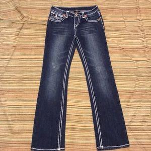 True Religion Dark Denim Jeans sz 30